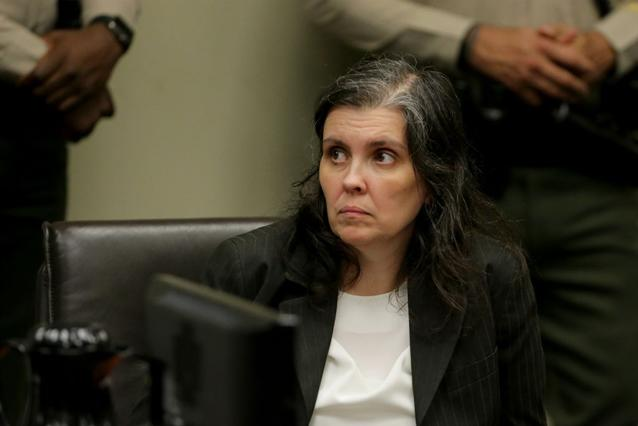 Louise Turpin in a California court. Source Getty