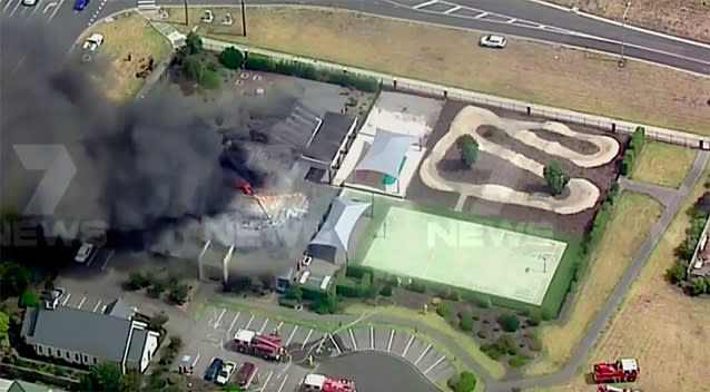 Fire breaks out at Melbourne aged care facility