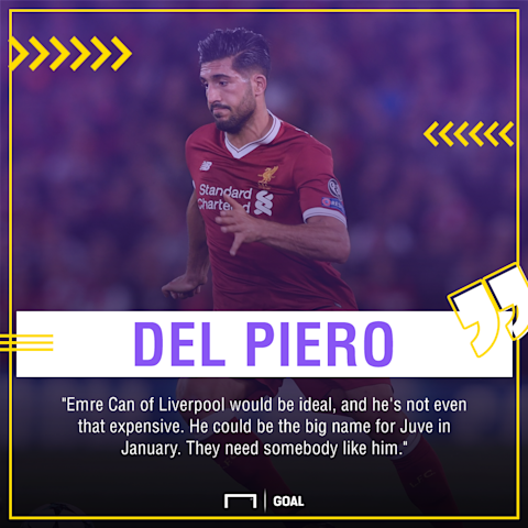 Del Piero wants Can deal