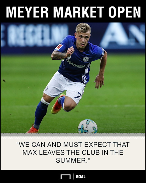 Schalke chief confirms Liverpool target Meyer will leave