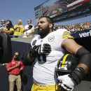 Steelers did not get 100 percent participation in sitting out anthem on Sunday