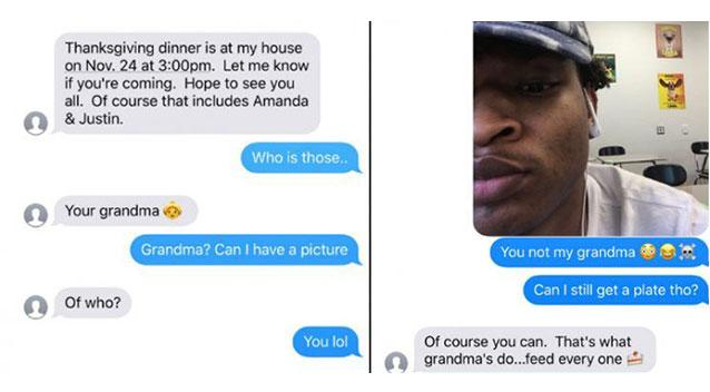 Grandma, teen from accidental Thanksgiving dinner text get together again this year