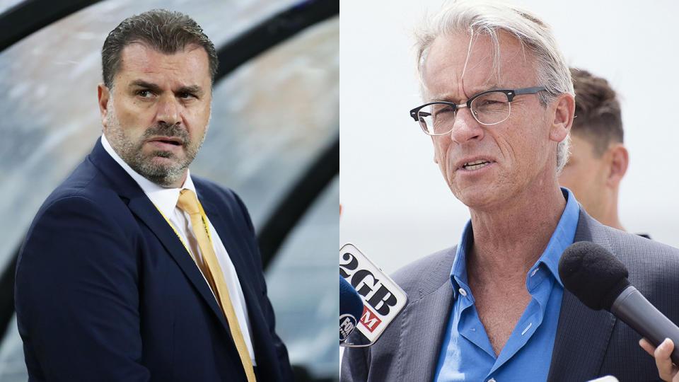 Australia coach Ange Postecoglou mind on Russian Federation, says FA boss David Gallop