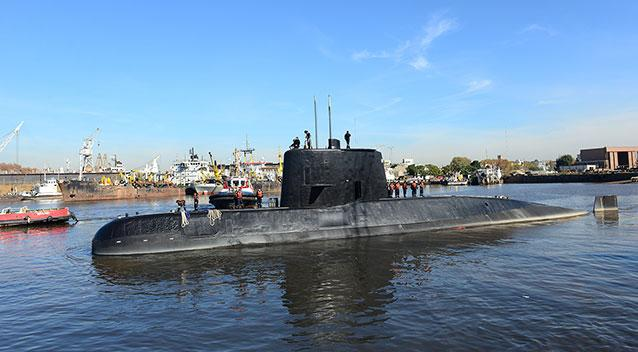 The last known location of the submarine was recorded on November 15. Source AAP