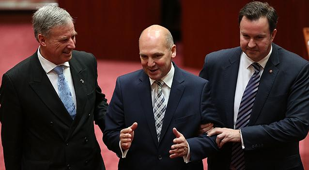 Senate President Stephen Parry could be a dual British citizen