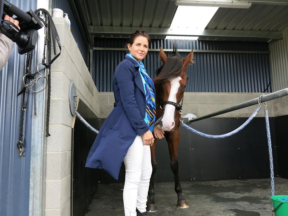 Michelle Payne stood down after positive test for banned substance