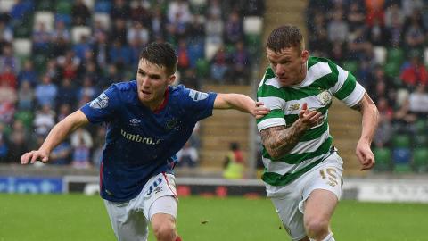 Paul Smyth Linfield Jonny Hayes Celtic