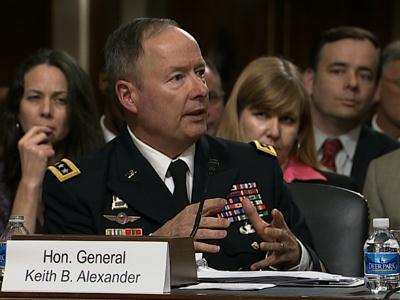 Senators Grill NSA Chief on Surveillance