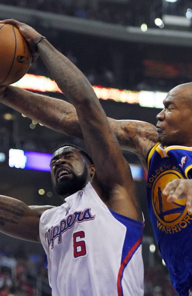 Warriors beat Clippers 109-105 in playoff opener