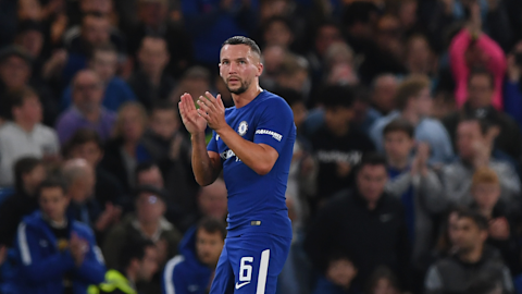 Antonio Conte opens up about Danny Drinkwater at Chelsea
