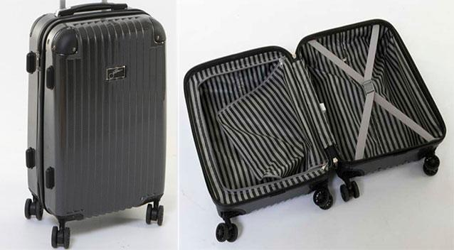 huge discount c0f48 38ffe The $49 Kmart suitcase that beat a $500 luxury brand   OverSixty