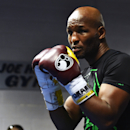 PHILADELPHIA, PA - OCTOBER 28: Bernard Hopkins works out for the media at Joe Hand Boxing Gym on October 28, 2014 in Philadelphia, Pennsylvania. (Photo by Drew Hallowell/Getty Images)