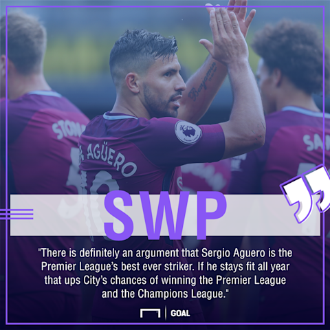 City's Aguero Facing Six Weeks Out
