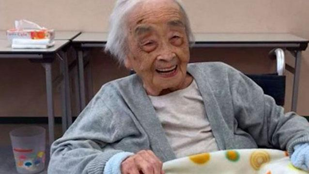 Nabi Tajima died aged 117. Source Twitter in memoriam