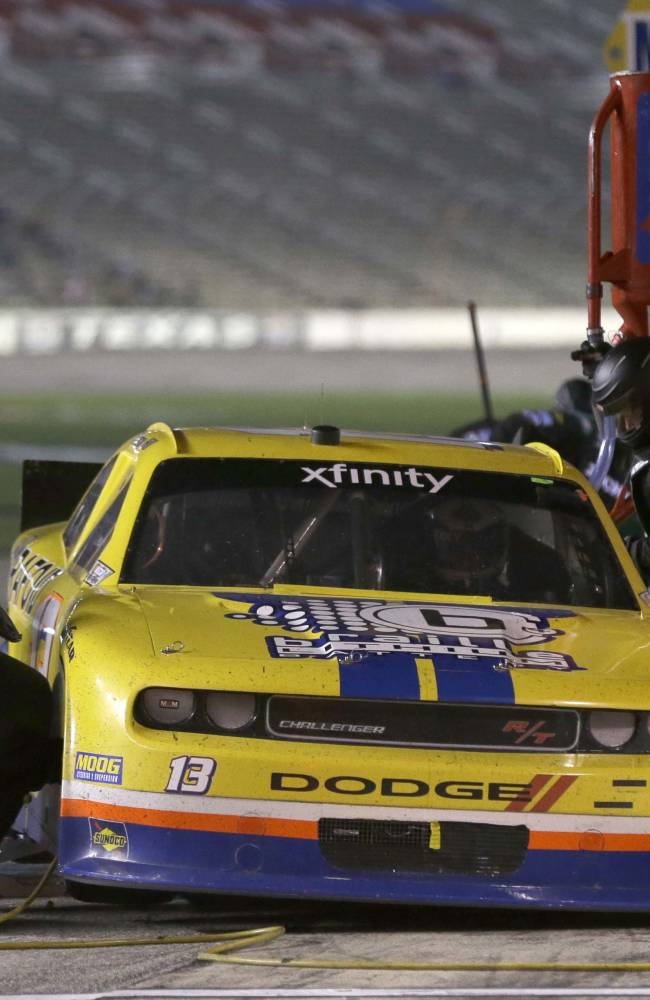NASCAR penalizes Premium Motorsports for unattached weight