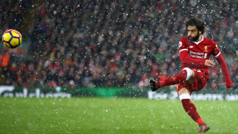Mohamed Salah Liverpool Everton