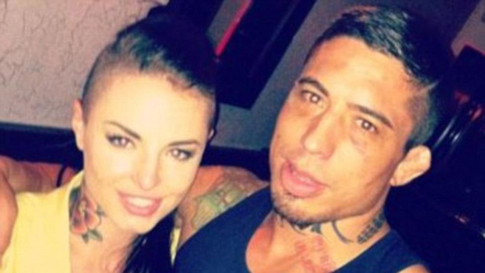Christy mack suffer from a large di 9