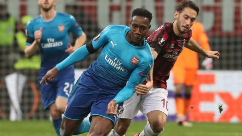 Welbeck Calhanoglu Milan Arsenal
