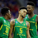 Oregon stuns Kansas to reach first Final Four in 78 years