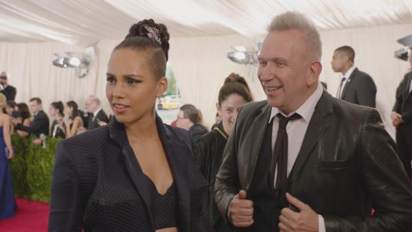 Alicia Keys Brings Jean Paul Gaultier as Date For Met Ball