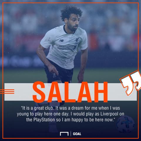 Mohamed Salah Liverpool PlayStation