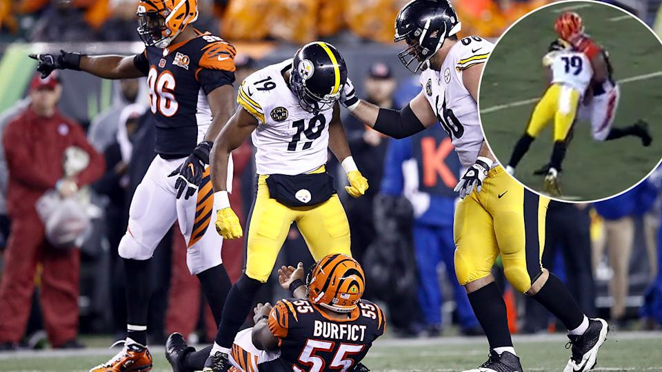 Steelers' Smith-Schuster, Bengals' Iloka each banned 1 game
