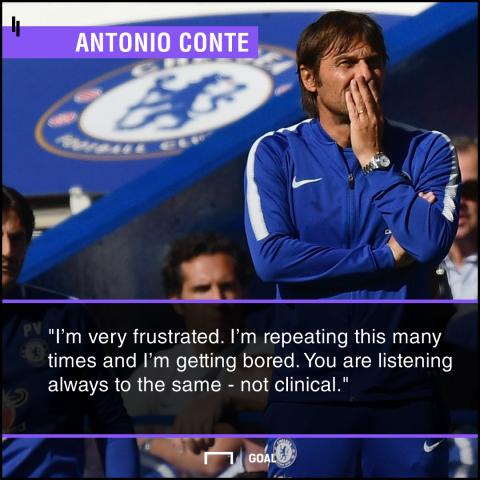 Antonio Conte bored of Chelsea