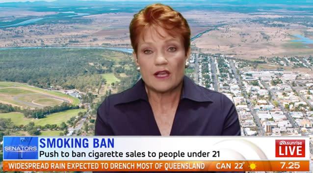 No job, no idea, no vote - Hanson