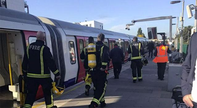 The terrorist attack in the subway of London: police arrested a suspect