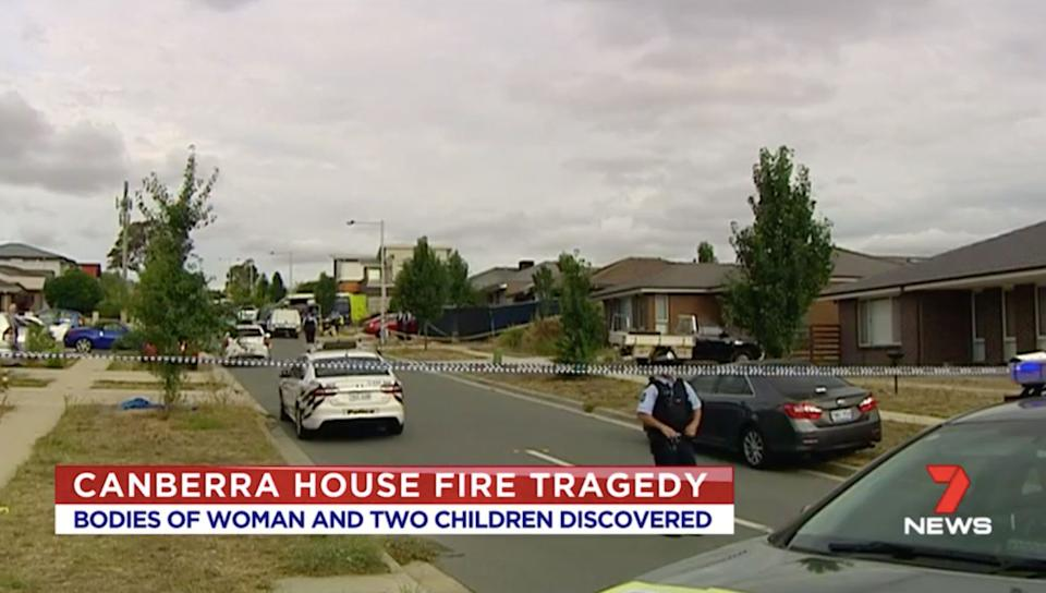 Three bodies found in wreckage of suspicious house fire in Canberra