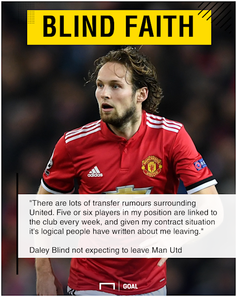 Daley Blind Manchester United stay