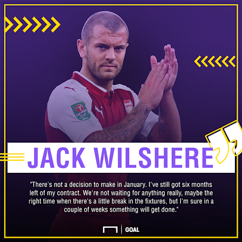 Arsene Wenger hopeful Jack Wilshere will sign a new contract