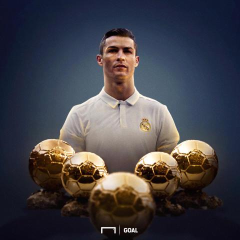 Cristiano Ronaldo, Ballon d'Or GFX