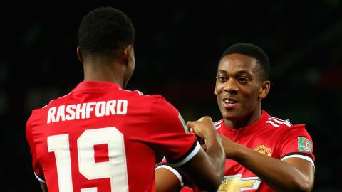Marcus Rashford Anthony Martial Manchester United