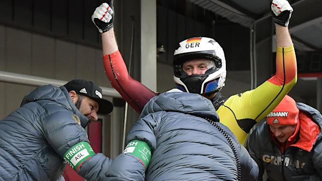Winter Olympics: Canada and Germany share two-man bobsleigh gold