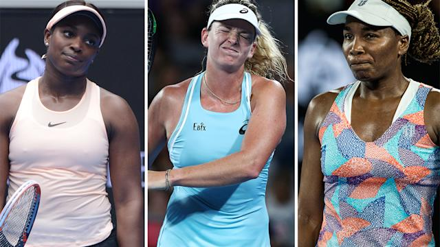 AUSTRALIAN OPEN - Bencic shocks Venus, out Stephens and Cibulkova