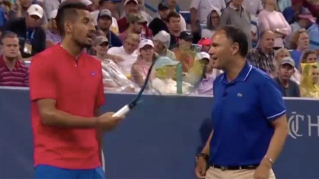 Nick Kyrgios Beats New No. 1 Rafa Nadal in Cincinnati Masters