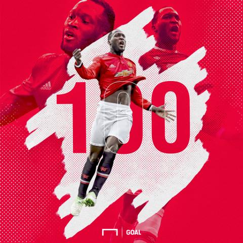 Romelu Lukaku 100 Premier League goals [embed