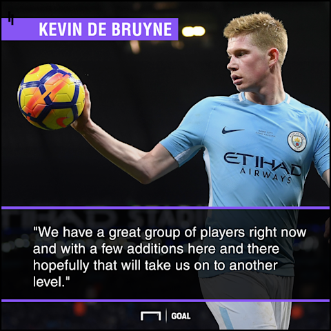 Kevin De Bruyne Manchester City to spend again