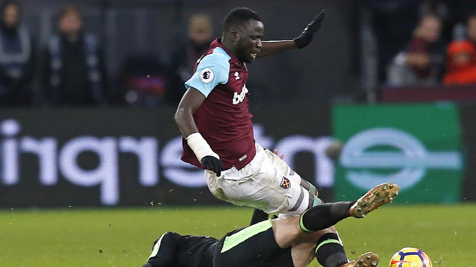 West Ham official suspended in racism storm