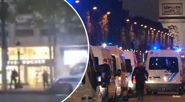 Paris shopping mall 'in second shooting' after Champs-Elysees killing