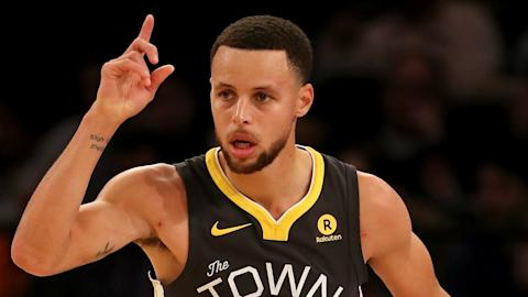 Curry to Miss 2-Game Road Trip
