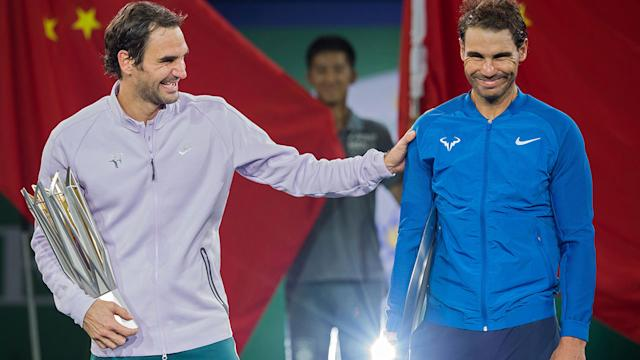 Roger Federer defeats Rafael Nadal to win the Shanghai Masters