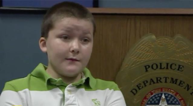 Officer adopts boy after saving him from abusive parents