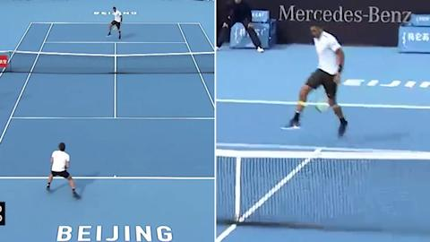 Nick Kyrgios avenges his most infamous tank with China Open victory
