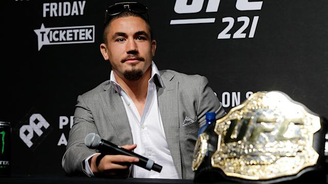 Whittaker's bout in Perth is no more. Image Getty