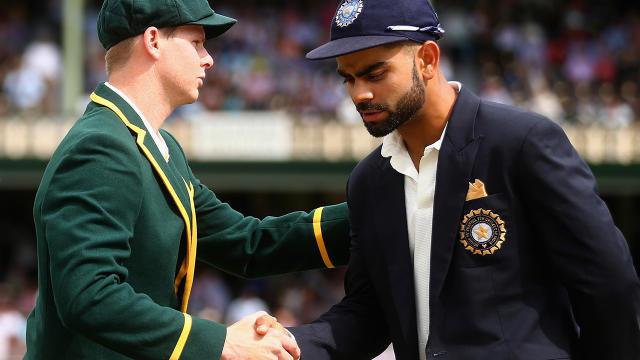 Smith and Kohli. Image Getty