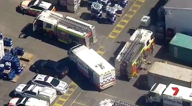 One dead, two injured in horror workplace accident in Sydney