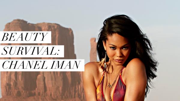 Beauty Survival: Chanel Iman