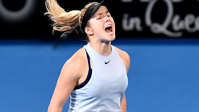 Svitolina stops Sasnovich, wins first title in Brisbane